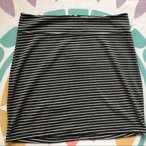 BDG Striped Skirt